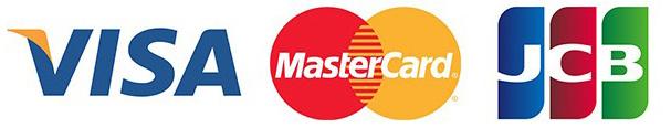 VISA MasterCard JCB